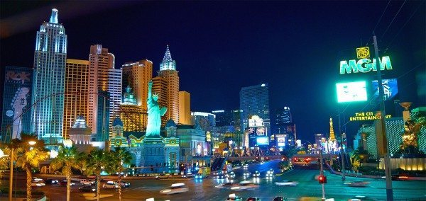 LIghts of the Vegas strip