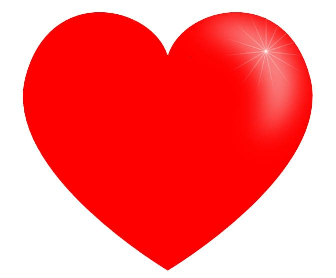 Valentines day heart