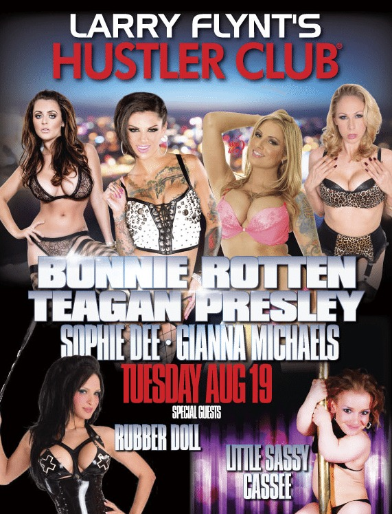 Hustler vegas adult film star event august 19th 2014