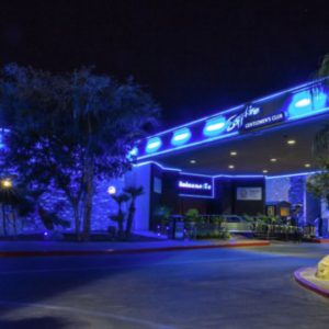 Sapphire world famous topless strip club is the largest in Las Vegas
