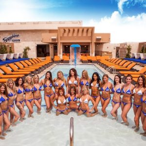 The beautiful staff at Sapphire Pool & Dayclub