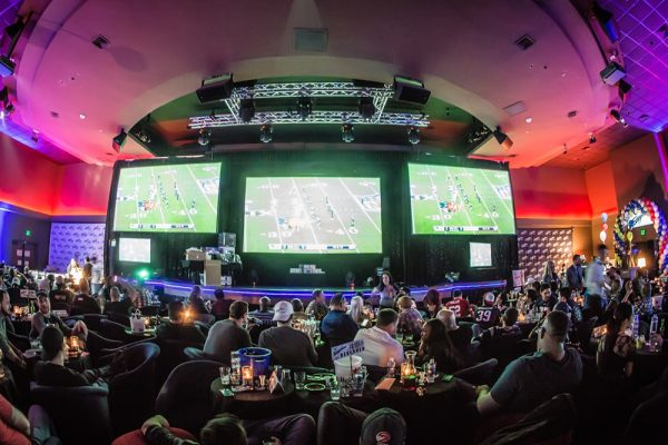 Massive VIP events room at Sapphire, perfect for the big game, UFC, or whatever