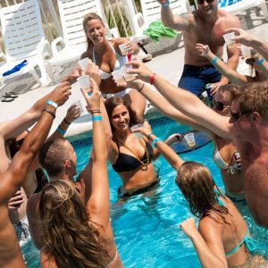 Las Vegas pool party at a dayclub