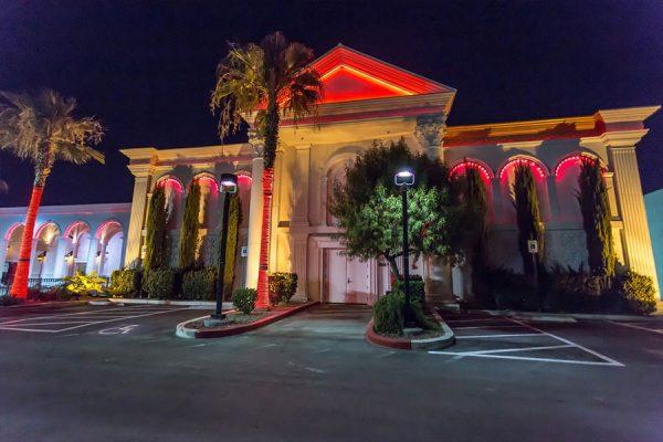 Front exterior of Crazy Horse 3 Gentlemen's Club in Las Vegas