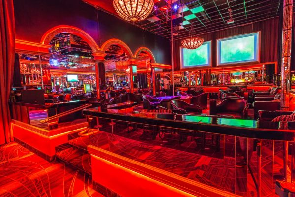 Watch your favorite sports and events at Crazy Horse 3 gentlemen's club