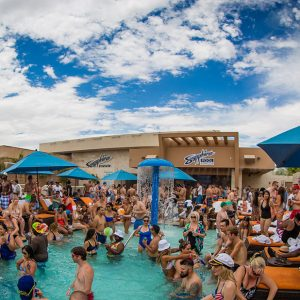 Sapphire's Dayclub is home to epic pool parties