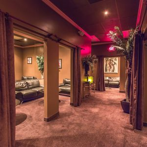 Swanky VIP rooms at Crazy Horse 3