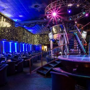 Gorgeous interior of Sapphire Gentlemen's Club