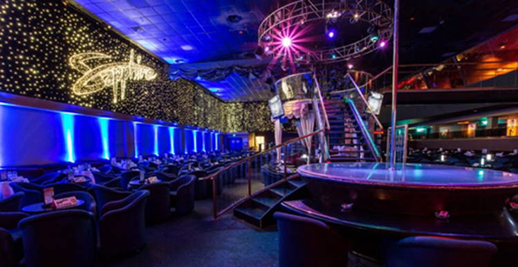 Club las sapphire strip vegas the