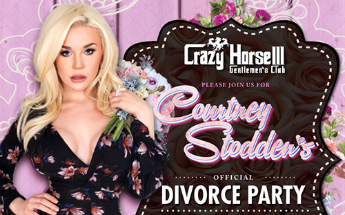 Celebrity Courtney Stodden's divorce party event at Crazy Horse 3