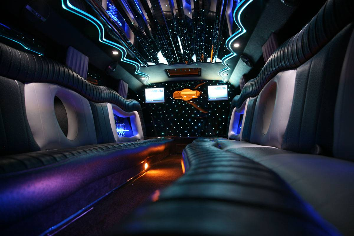 Custom interior f650 limo MIDNIGHT