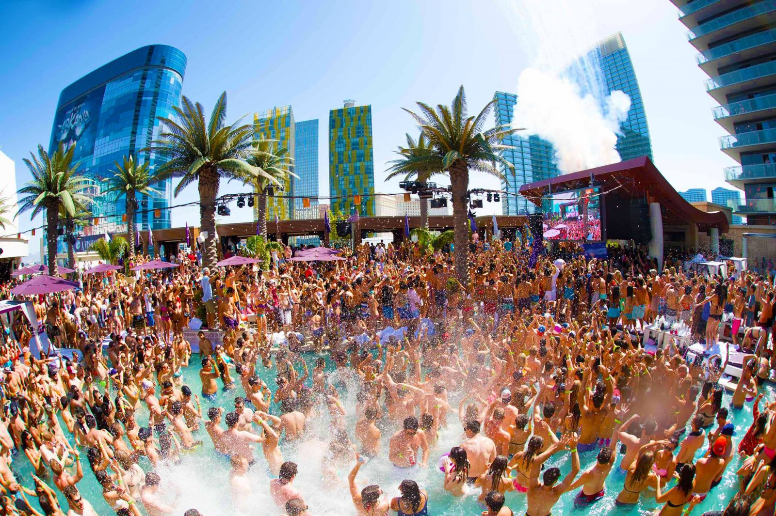 Pool season at Marquee Dayclub
