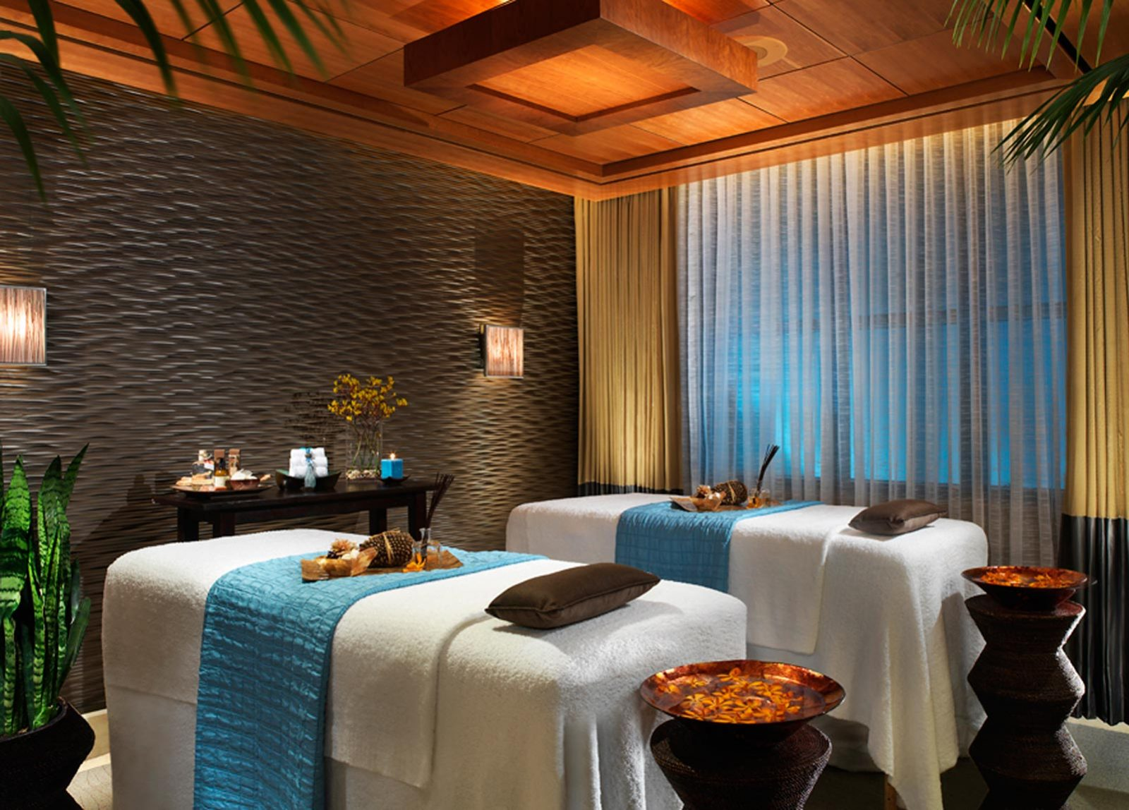 Luxurious massage facilities at Qua Baths and Massage inside Ceasar's Palace Las Vegas