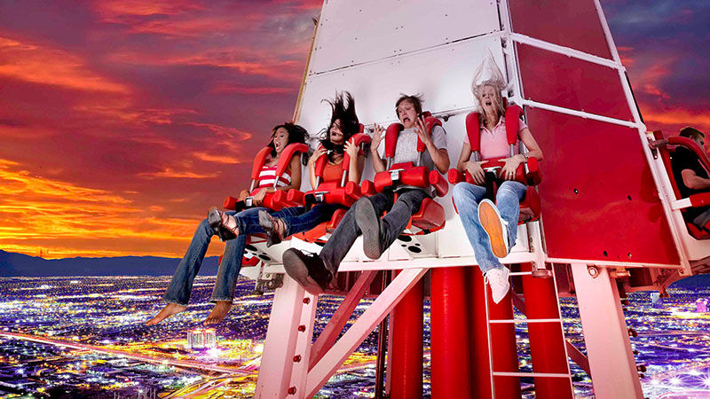 BigShot thrill ride at Stratosphere