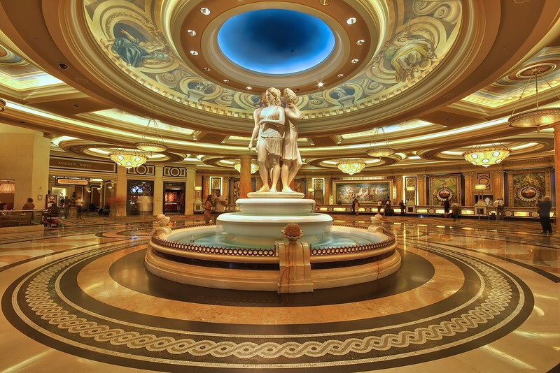 Caesar's Palace Foutains