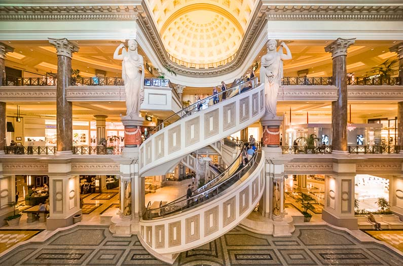 The Foum Shops Mall at Caesar's Palace Las Vegas Hotel & Casino