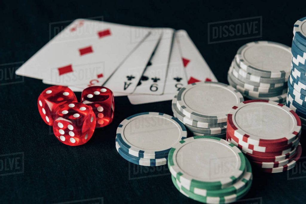 Cards, dice, and chips, the gambling basics in Las Vegas