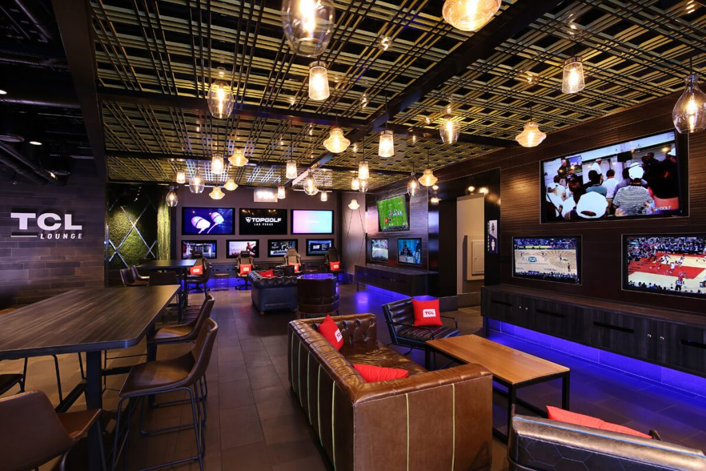 TCL Lounge at Topgolf Las Vegas