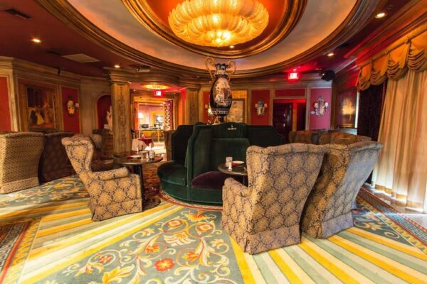 The Steakhouse inside Treasures Gentlemen's Club Las Vegas is amaing